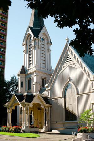The Old Church wedding Portland
