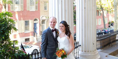 Old Pine Street Church wedding Philadelphia