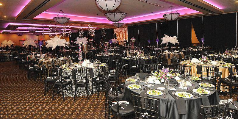 Harrah's Philadelphia Casino and Racetrack wedding Philadelphia