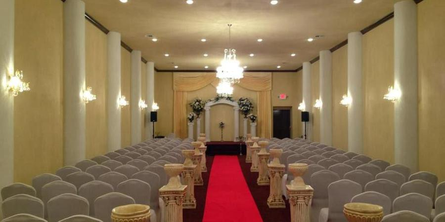 Sterling Banquet Hall wedding Houston