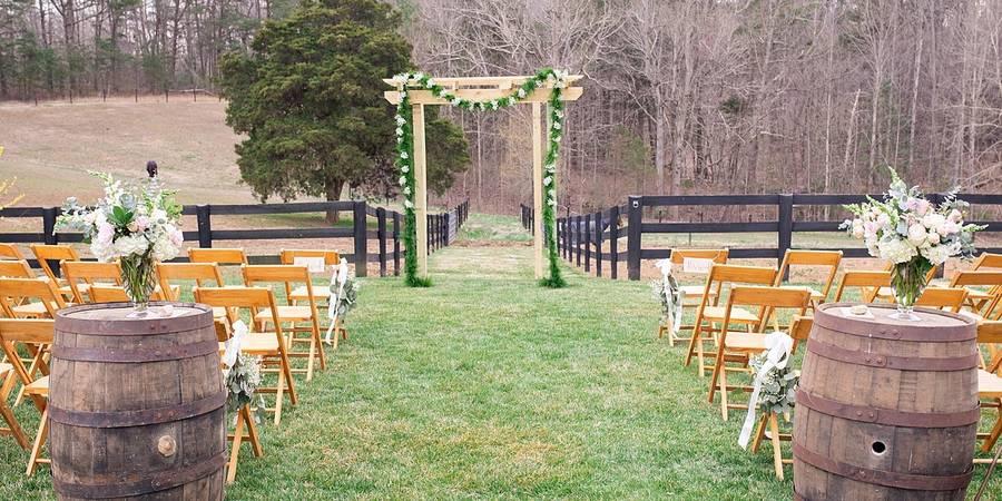 Barboursville Vineyards wedding Charlottesville