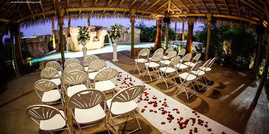 Hawaiian Garden Weddings at the Hilton Garden Inn wedding Las Vegas