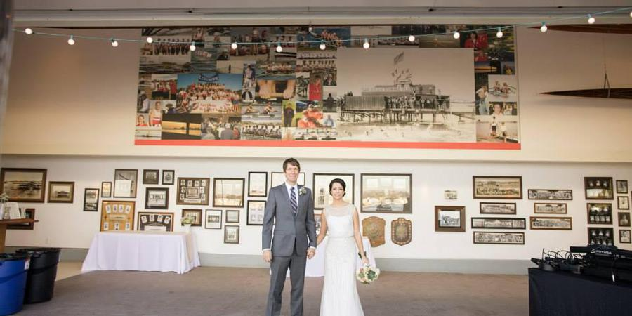 The San Diego Rowing Club - Garty Pavilion wedding San Diego