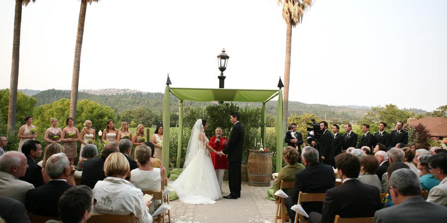 The Culinary Institute of America wedding Napa/Sonoma