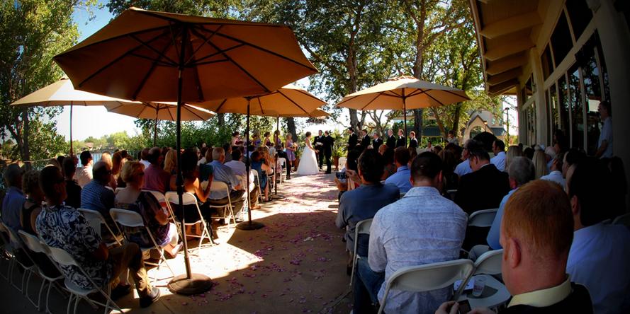Lakeside Pavilion wedding Sacramento
