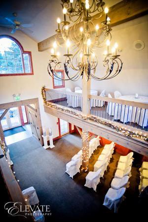 Evergreen Red Barn wedding Denver