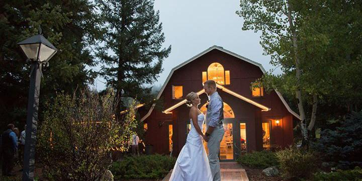 Evergreen Red Barn wedding Denver