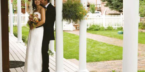 Secret Garden Bed & Breakfast wedding Aspen/Vail/High Rockies
