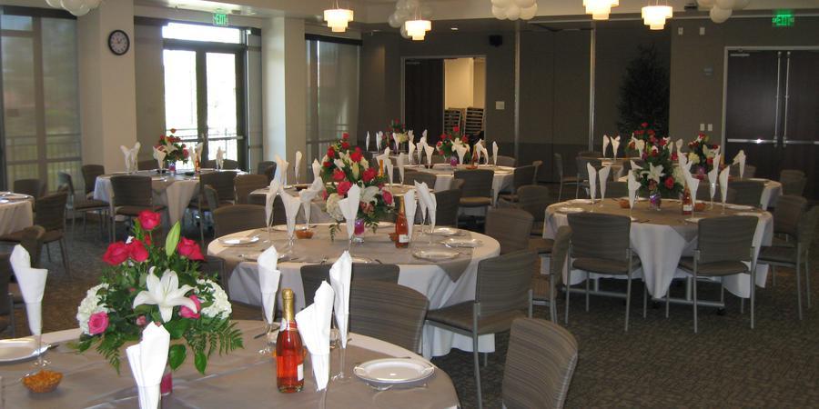 Morris B Vance Community Room wedding San Diego