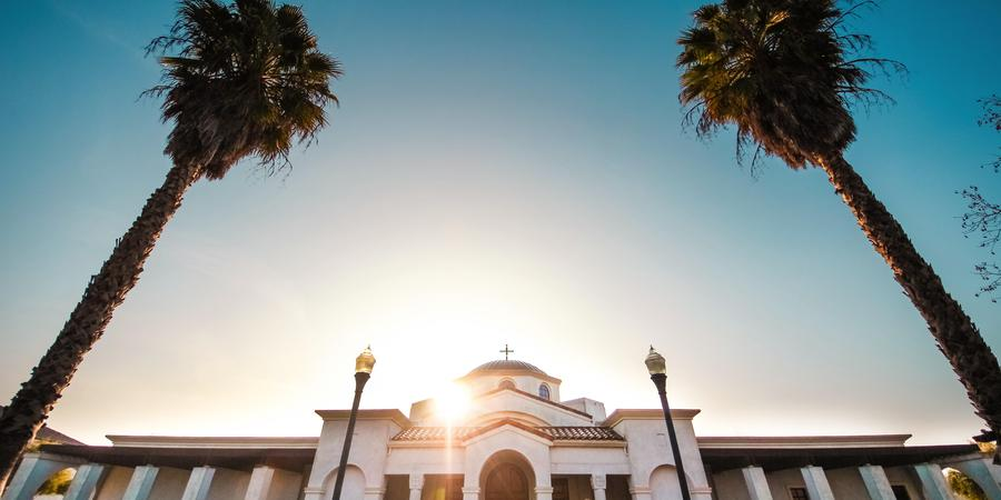 Saint Katherine Greek Orthodox Church wedding Sacramento