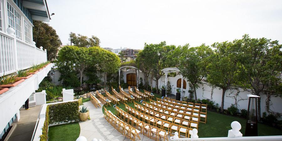 Verandas Beach House wedding Los Angeles