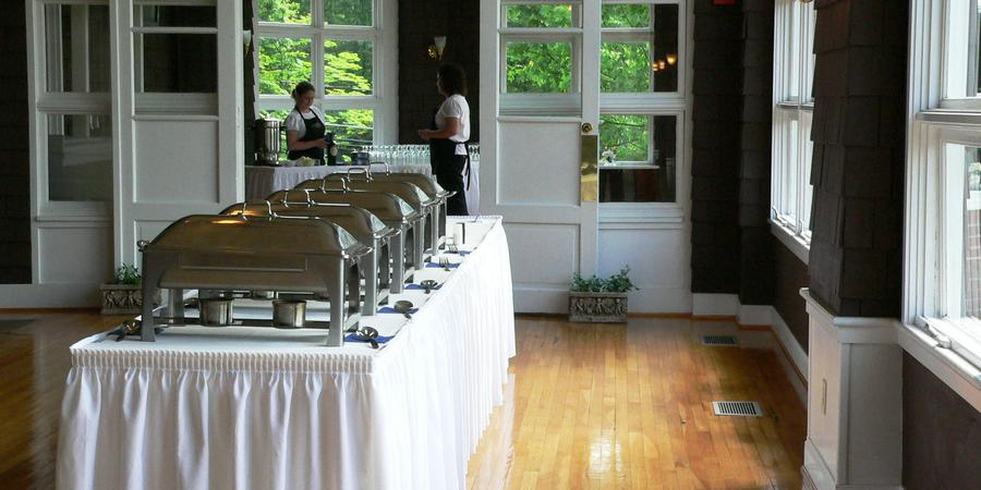 Fairfax Hall Dining Room wedding Charlottesville