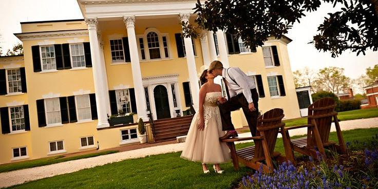 Oatlands Historic House and Gardens wedding Northern Virginia