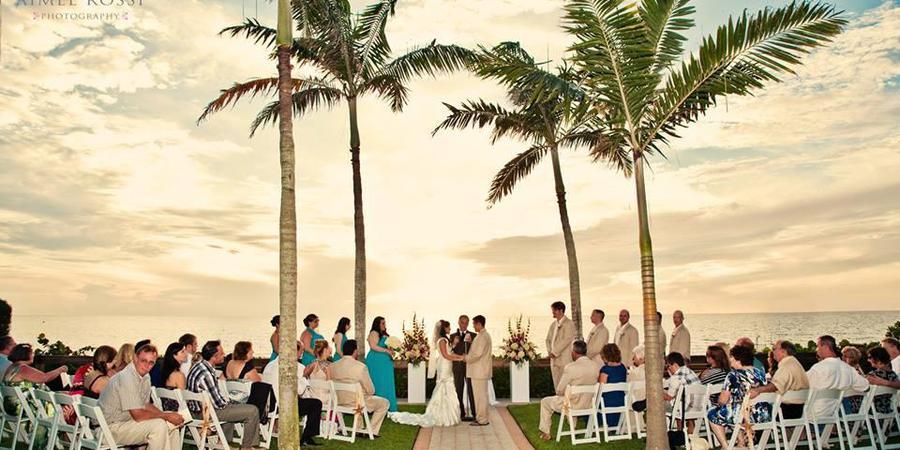 Bellasera Hotel wedding Naples/Fort Myers