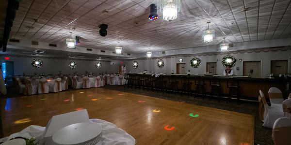 The Champagne Room at Polish American Citizens Association wedding Philadelphia