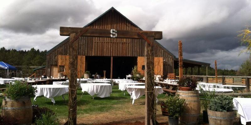 Long Hollow Ranch wedding Willamette Valley