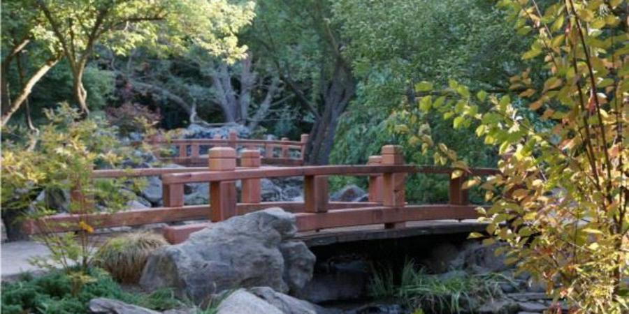 Shinzen Friendship Garden wedding Central Valley