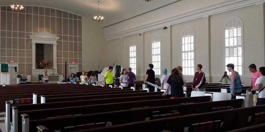 First Christian Church wedding Fort Worth