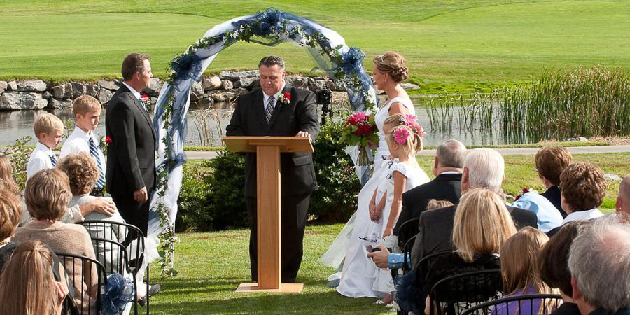 Buffalo Run Golf Course wedding Denver