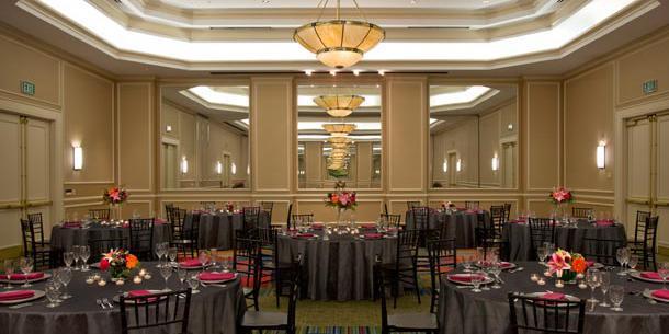 Denver Airport Marriott at Gateway Park wedding Denver