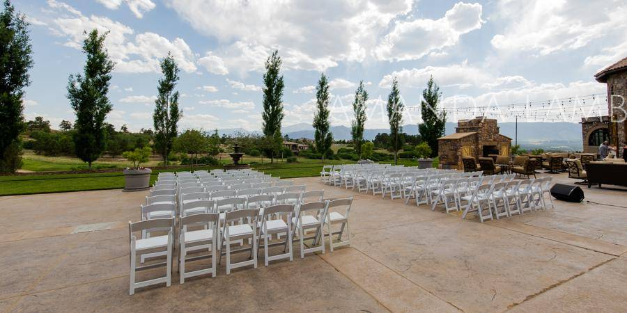 The Club at Flying Horse wedding Colorado Springs