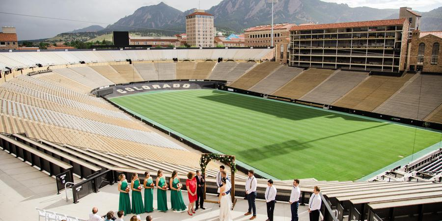 Folsom Field Events wedding Denver