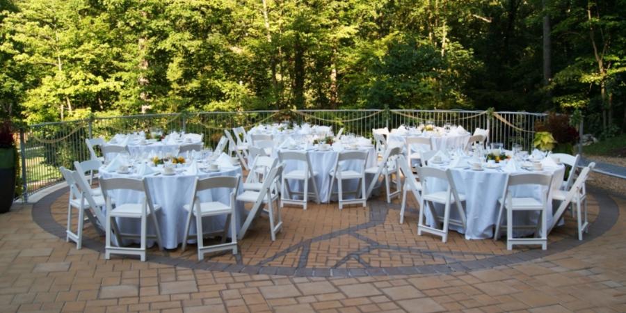 Edith J. Carrier Arboretum at JMU wedding Charlottesville