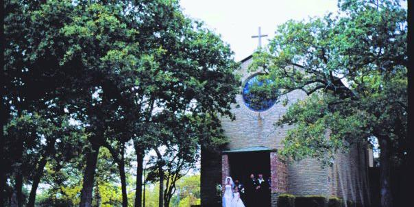 The Little Chapel in the Woods wedding Dallas