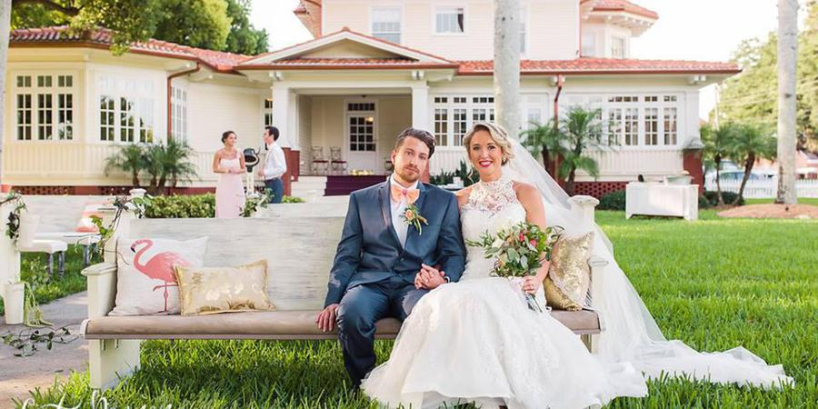 Palmetto Riverside Bed and Breakfast wedding Tampa