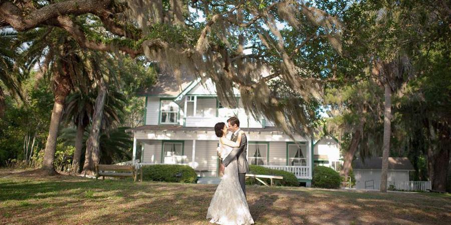 Historic Spanish Point wedding Tampa