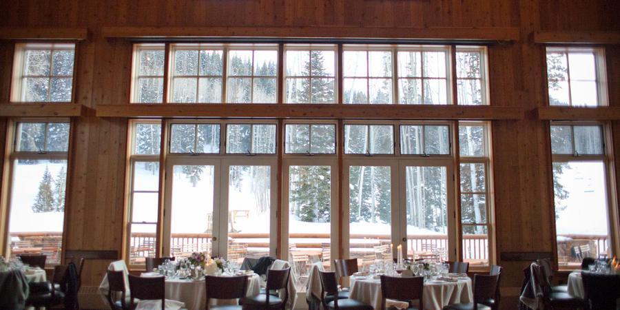 Empire Canyon Lodge at Deer Valley Resort wedding Salt Lake City