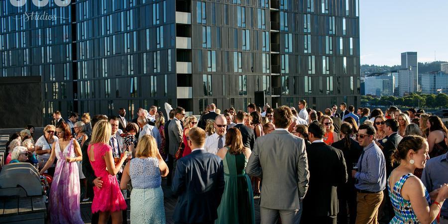 Eastside Exchange Ballroom & Cascade Rooftop wedding Portland