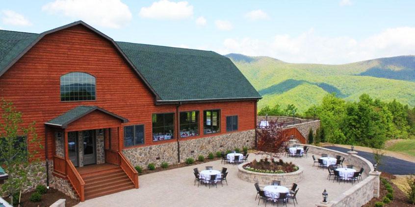 House Mountain Inn wedding Lexington