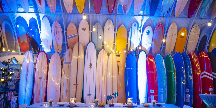 Bird's Surf Shed wedding San Diego