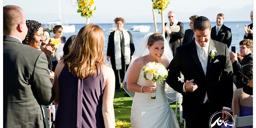 Gar Woods Grill & Pier wedding Tahoe