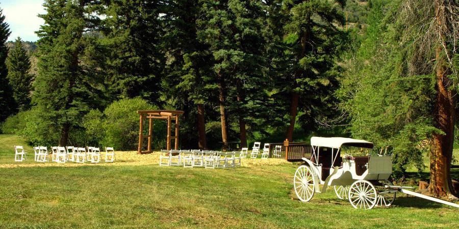 Bearcat Stables wedding Aspen/Vail/High Rockies