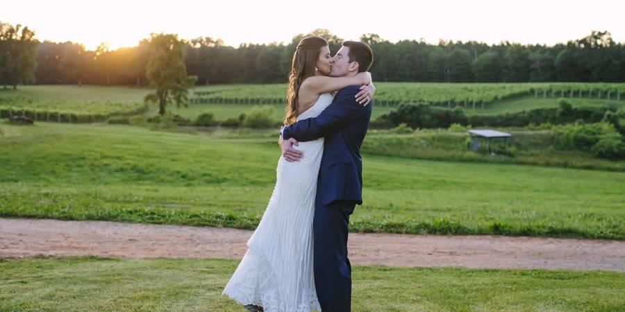 Rosemont Vineyards and Winery wedding Virginia Beach