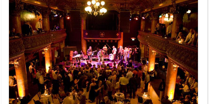 Great American Music Hall wedding San Francisco