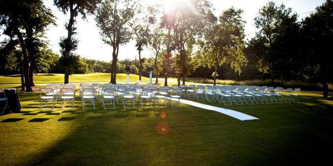 Iron Horse Golf Course wedding Dallas