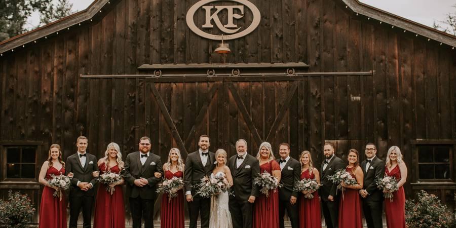 The Kelley Farm wedding Tacoma