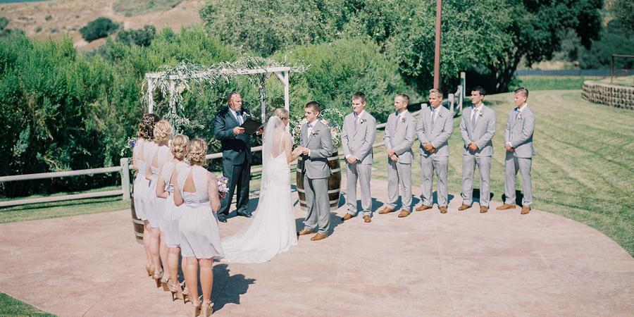 Cottonwood Canyon Vineyard and Winery wedding Santa Barbara
