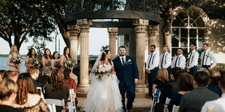 Bentwater Yacht Country Club wedding Houston