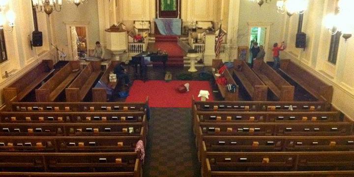 Hope Central Church wedding Boston