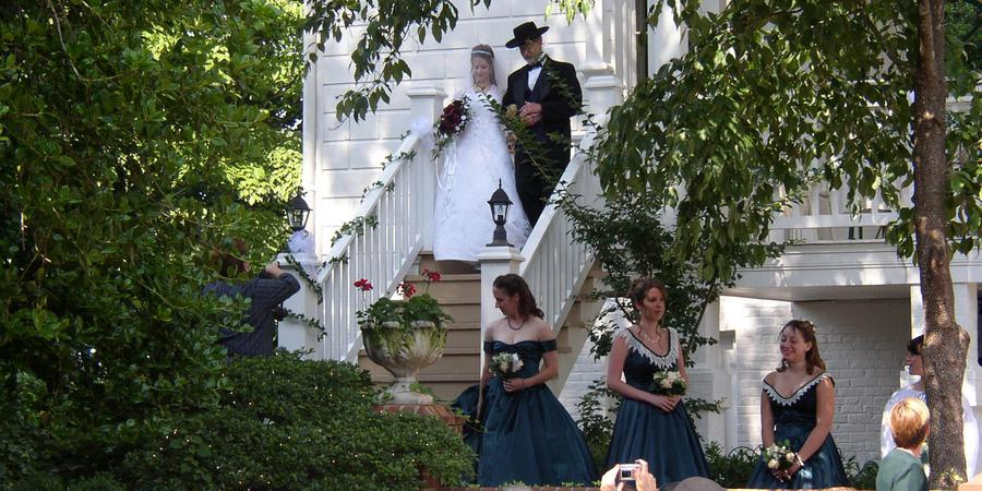 Mayhurst Inn wedding Charlottesville