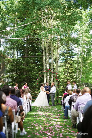 Silver Fork Lodge wedding Salt Lake City