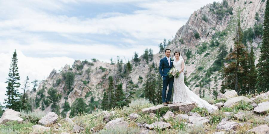 Snowbasin Resort wedding Salt Lake City
