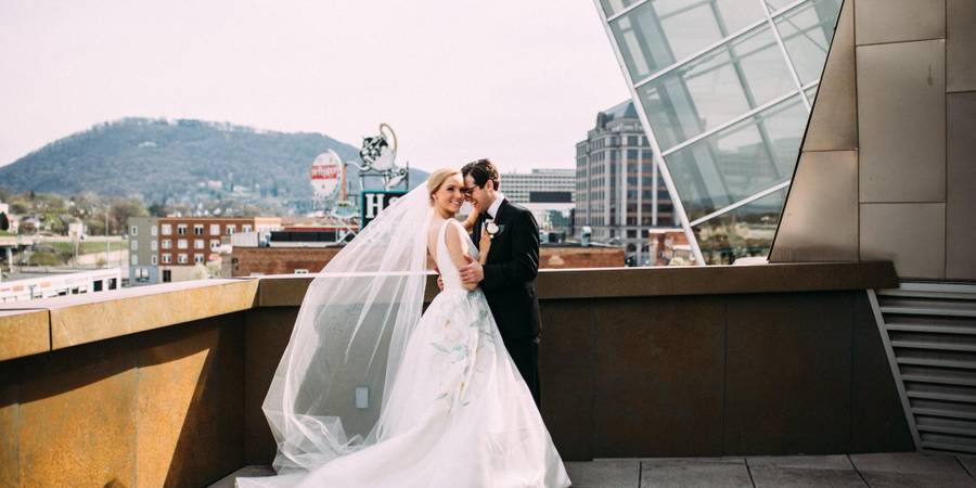 Taubman Museum of Art wedding Lexington
