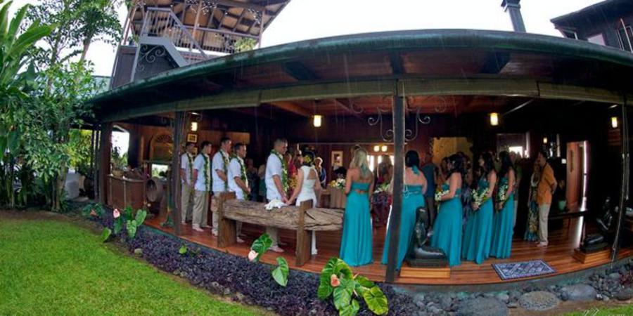 Holualoa Inn wedding Hawaii (Big Island)