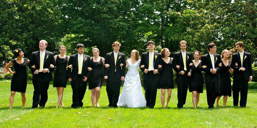 University of Virginia Alumni Association wedding Charlottesville