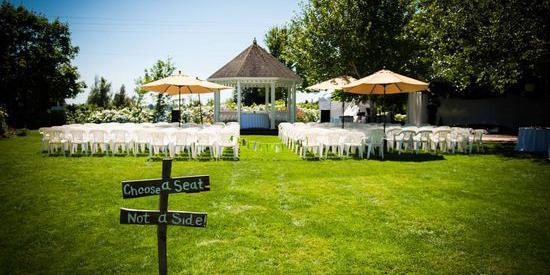 Green Villa Garden wedding Portland